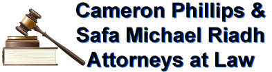 Safa Michael Riadh and Cameron Phillips Attorneys at Law